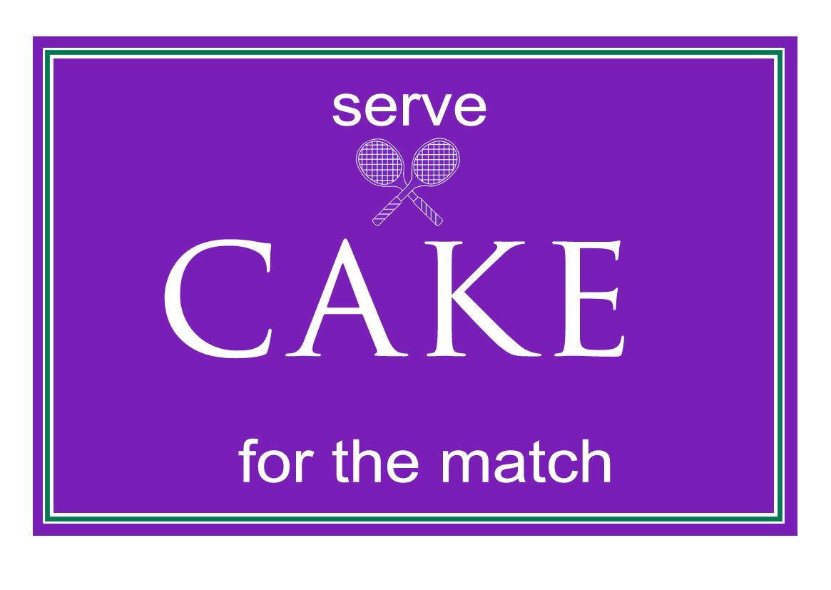 wimbledon cakes